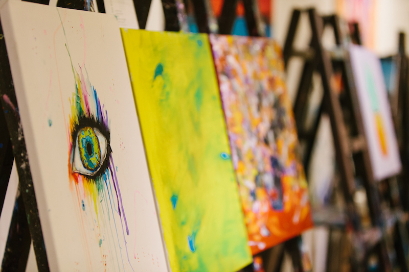 Birthday Paint Party Idea For Adults Toronto Markham Paintlounge